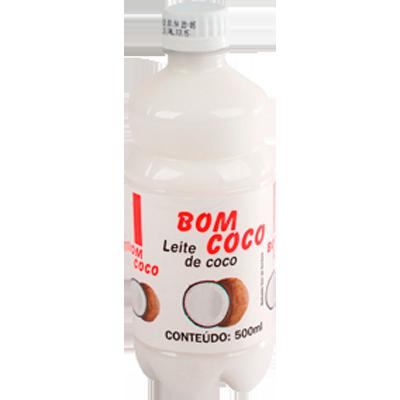Leite de Coco  500ml Bom Coco garrafa UN