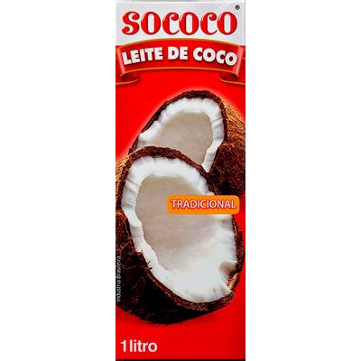Leite de Coco  1Litro Sococo Tetra Pak UN