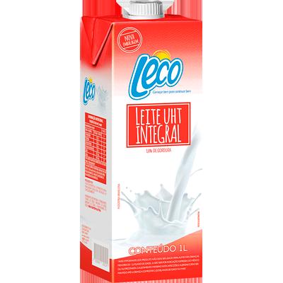Leite Integral  1Litro Leco Tetra Pak UN