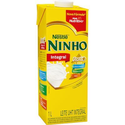 Leite Integral  1Litro Ninho Tetra Pak UN