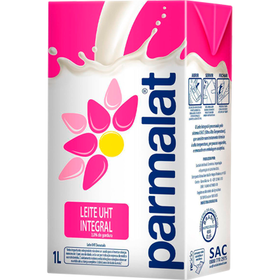 Leite Integral  1Litro Parmalat Tetra Pak UN