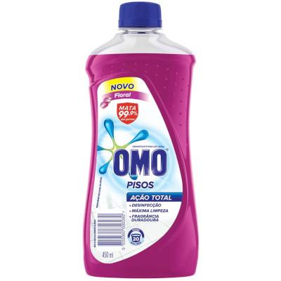 Limpa pisos floral 450ml Omo frasco FR