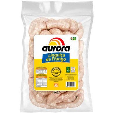 Linguiça de frango por Kg Aurora  KG