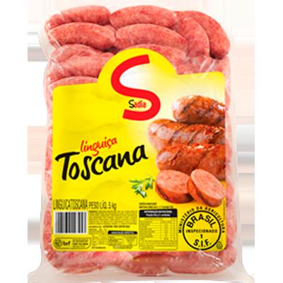 Linguiça toscana por kg Sadia  KG