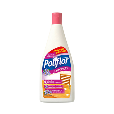 Lustra Móveis  500ml Poliflor frasco FR