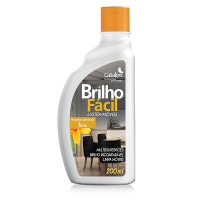 Lustra Móveis lirio frasco 200ml Brilho Fácil FR