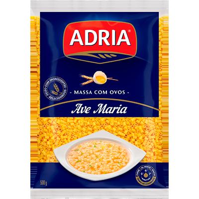 Macarrão Ave Maria com Ovos 500g Adria pacote UN