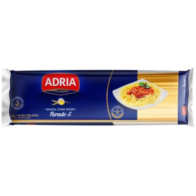 Macarrão Espaguete (5) com Ovos 500g Adria pacote UN