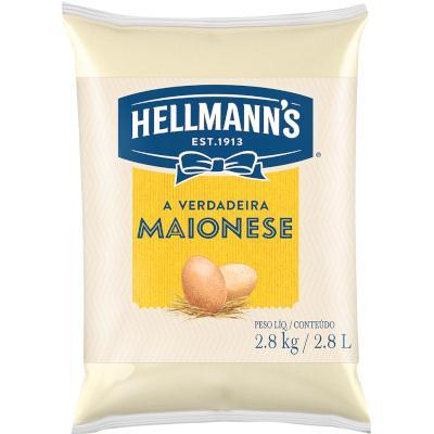 Maionese  2,8kg Hellmann's bag BAG