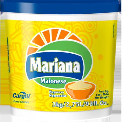 Maionese balde 3kg Mariana BD
