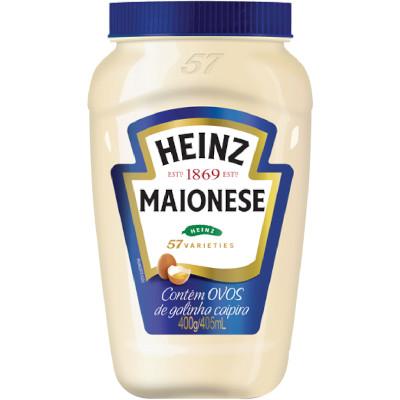 Maionese  400g Heinz pote UN