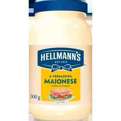 Maionese  500g Hellmann's pote UN
