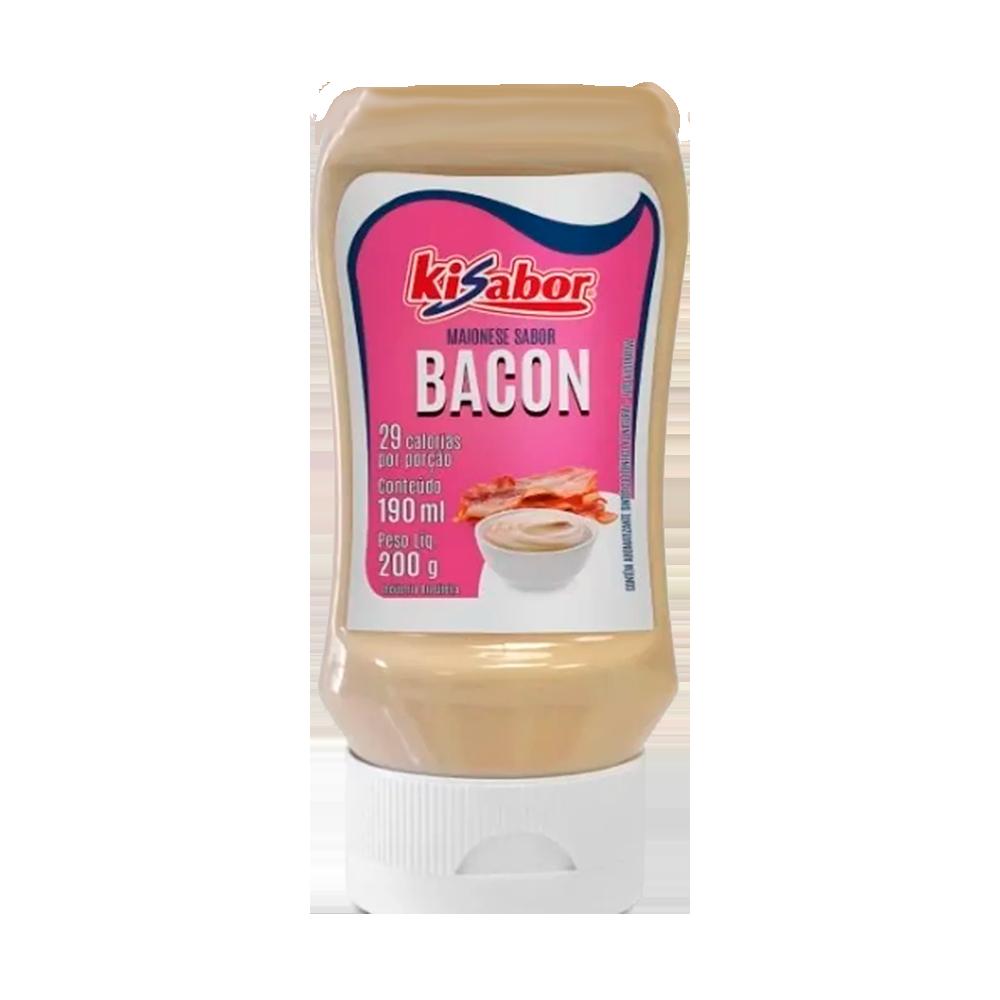 Maionese sabor bacon 200g KiSabor pet UN