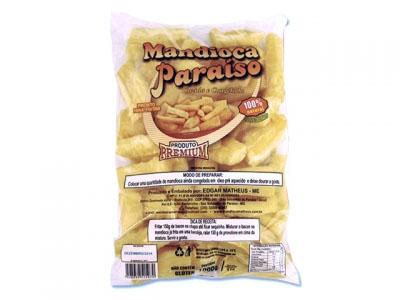 Mandioca tolete congelada pacote por Kg Paraíso Premium KG