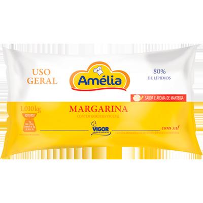 Margarina com sal (bag de 1kg) Amélia por Kg KG