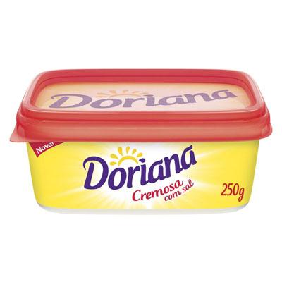 Margarina com sal 250g Doriana pote UN