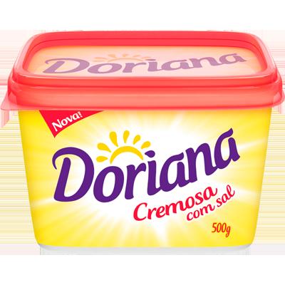 Margarina com sal 500g Doriana pote UN