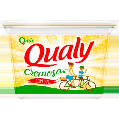 Margarina com sal 500g Qualy pote UN