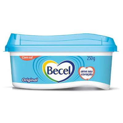 Creme Vegetal original com sal 250g Becel pote UN