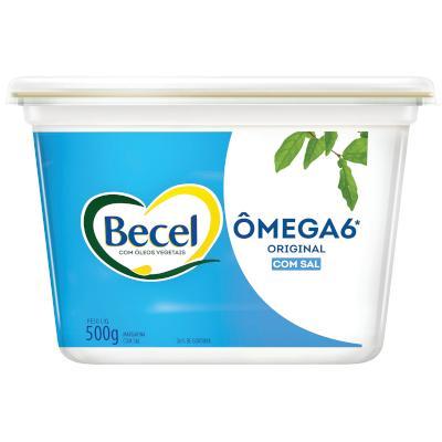 Margarina original com sal pote 500g Becel UN