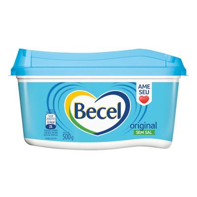 Margarina original sem sal pote 500g Becel UN