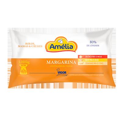 Margarina para massas e cremes por Kg (bag de 1kg) Amélia KG