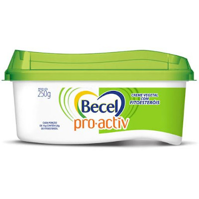 Creme Vegetal pro activ 250g Becel pote UN