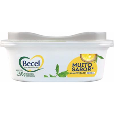 Margarina sabor manteiga com sal pote 250g Becel UN