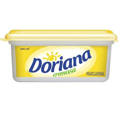 Margarina sem sal pote 250g Doriana UN