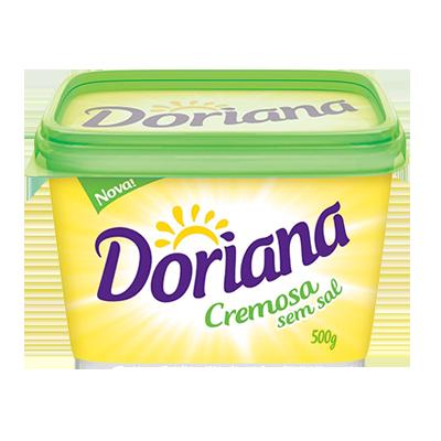 Margarina sem sal 500g Doriana pote UN