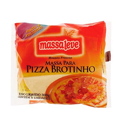 Massa para pizza Brotinho 300g Massa Leve pacote UN