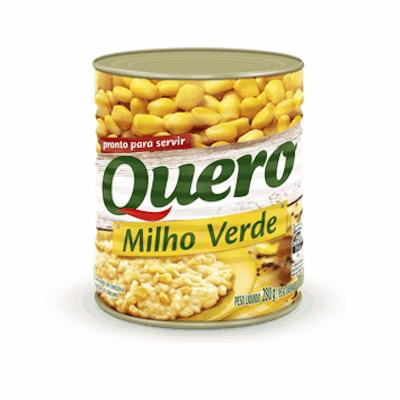 Milho Verde em Conserva 170g Quero lata UN