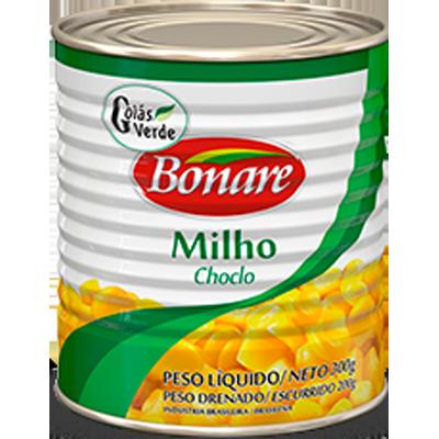 Milho Verde em Conserva 200g Bonare lata UN