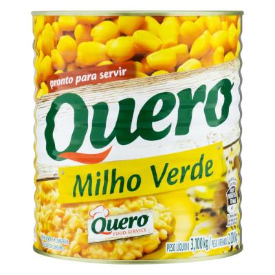 Milho Verde em Conserva 2kg Quero lata UN