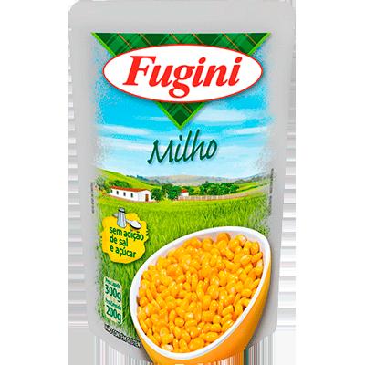 Milho Verde em Conserva 200g Fugini sachê UN