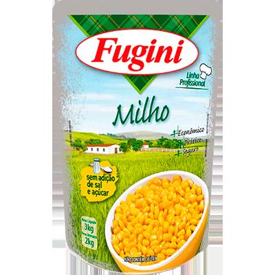 Milho Verde em Conserva 2kg Fugini sachê UN