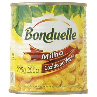Milho verde vapor lata 200g Bonduelle UN