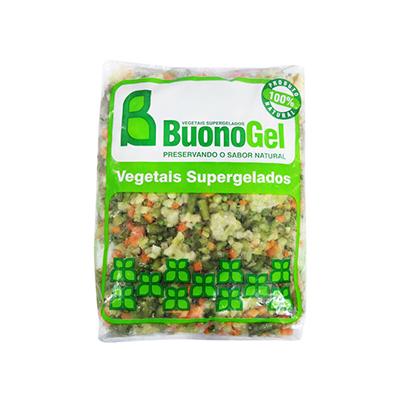 Mistura Jardineira de legumes congelado (pacote de 1 a 2,5kg) Buonogel por kg KG