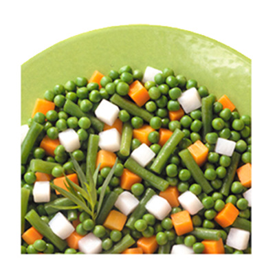Mistura Jardineira de legumes congelado por Kg (pacote de 1 a 2,5kg) Daucy KG