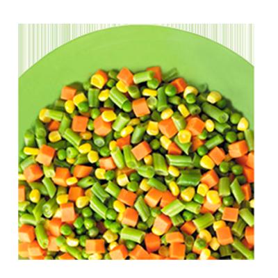 Mistura Mix de legumes congelado 1kg Daucy pacote UN