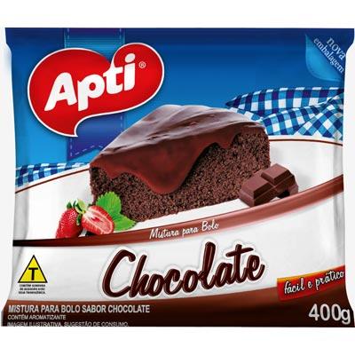 Mistura para Bolo de chocolate 400g Santa Amália pacote PCT