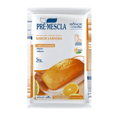 Mistura para Bolo de laranja pacote 5kg Bunge Pro PCT