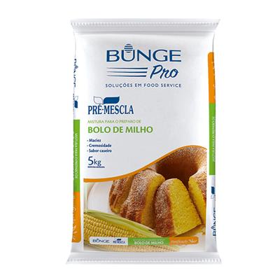 Mistura para Bolo de milho pacote 5kg Bunge Pro PCT