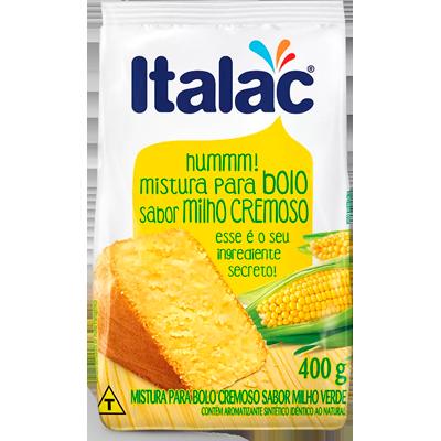 Mistura para Bolo sabor milho 400g Italac pacote PCT