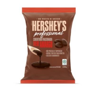 Moedas de Chocolate meio amargo fracionada para cobertura 2,01kg Hershey's/Professional pacote PCT