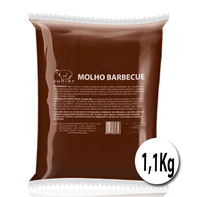 Molho barbecue  1 a 1,25kg Junior bag UN