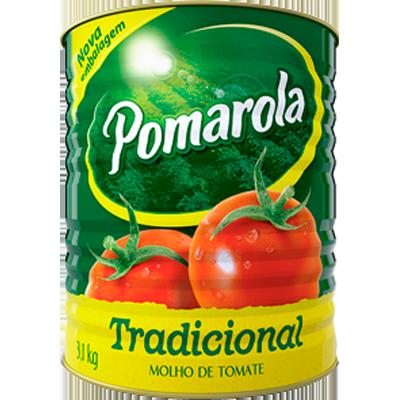 Molho de tomate  3,1kg Pomarola lata UN