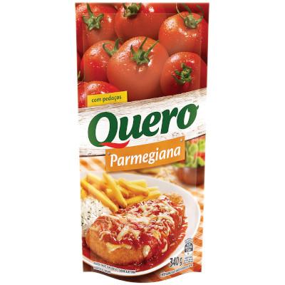 Molho de tomate parmegiana 340g Quero sachê UN