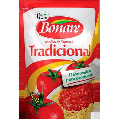 Molho de tomate  2kg Bonare sachê UN