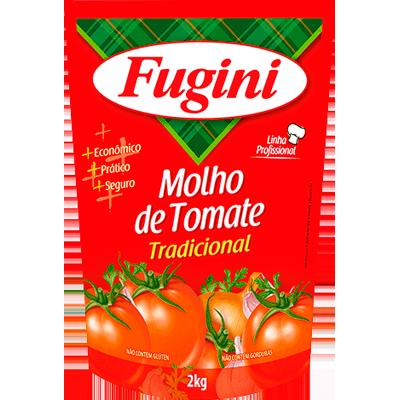 Molho de tomate  2kg Fugini sachê UN